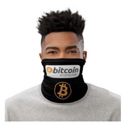 Bitcoin Accepted Gaiter