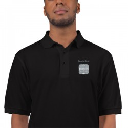 CopticFind Embroidered Polo...