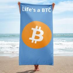 Life's A BTC Towel