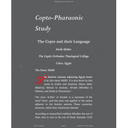Copto-Pharaonic Study
