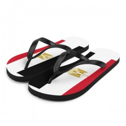 Egyptian Flag Flip-Flops