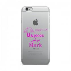 4 Languages iPhone Case - Mark