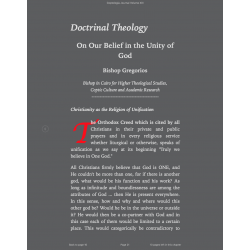 Doctrinal Theology