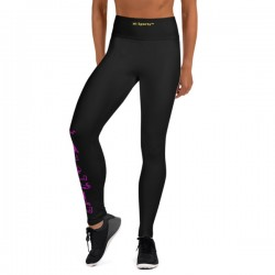 Black Yoga Leggings -...